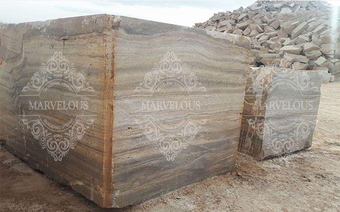 travertine stone block for sale