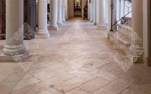 stone travertine tile for sale