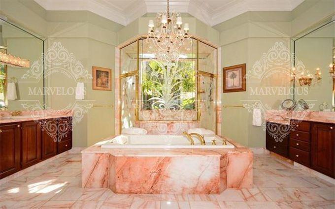 pink marble stone slab sale