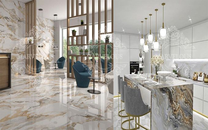 5 star marble and stone