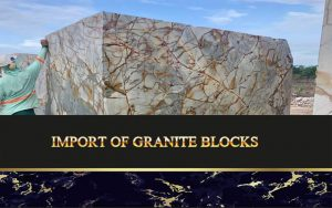 Import Of Granite Blocks