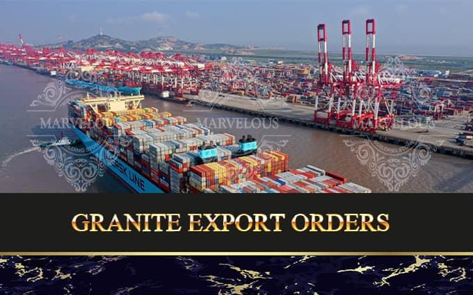 Granite Export Orders