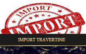 Import Travertine