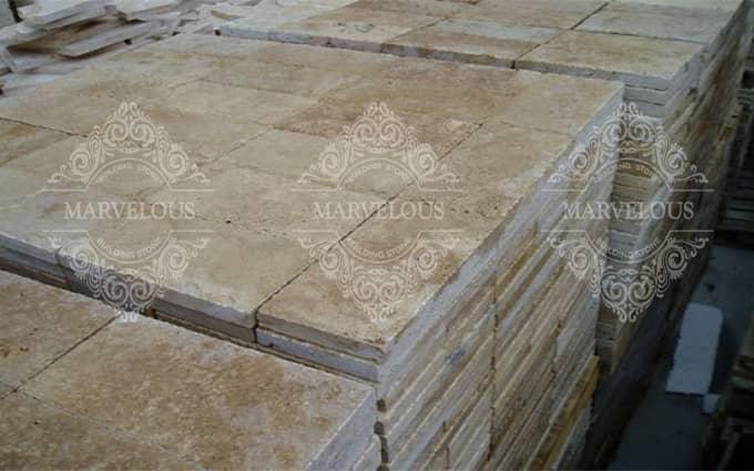 marble stone pavers