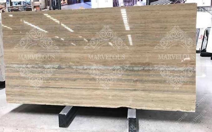 travertine stone slab