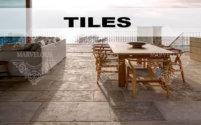 wholesale travertine floor tile