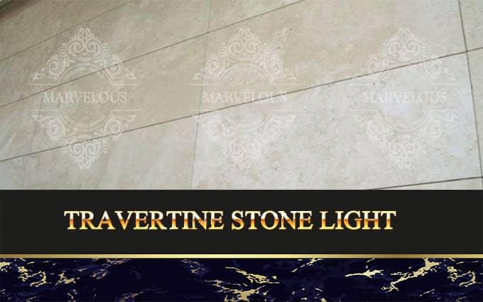 Travertine Stone Light