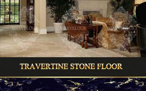 travertine stone floor