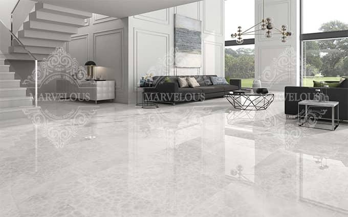 travertine grey tile