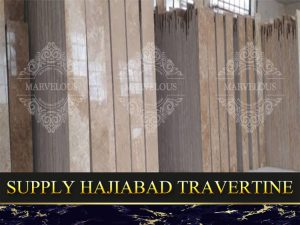 Supply Hajiabad Travertine