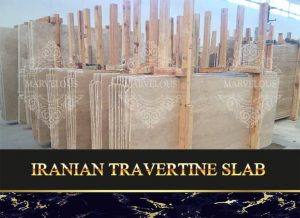 Iranian Travertine Slab