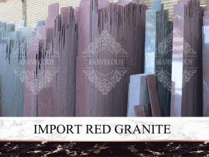 Import Red Granite