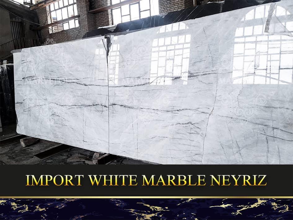 Import White Marble Neyriz