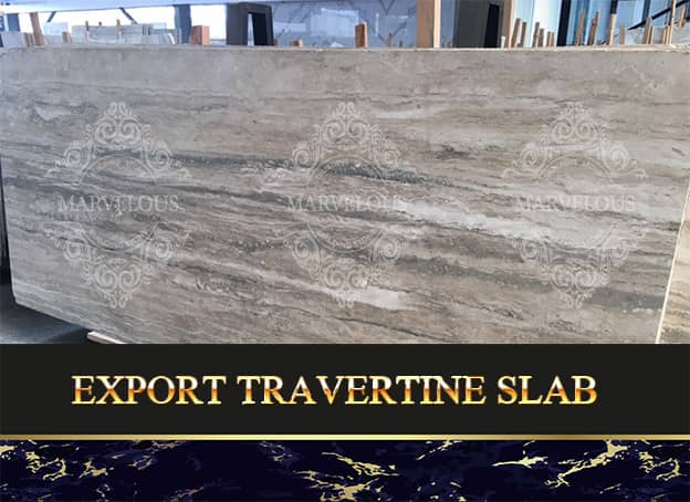 Export Travertine Slab
