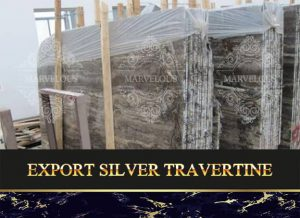 Export Silver Travertine