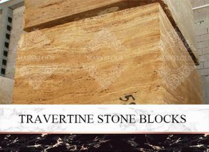 Travertine Stone Block