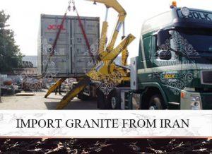 Import Granite Frome Iran