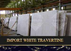 Import White Travertine