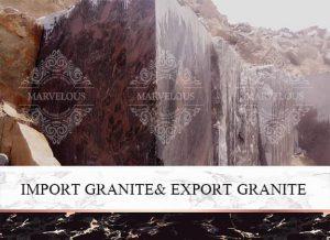 Import Granite& Export Granite