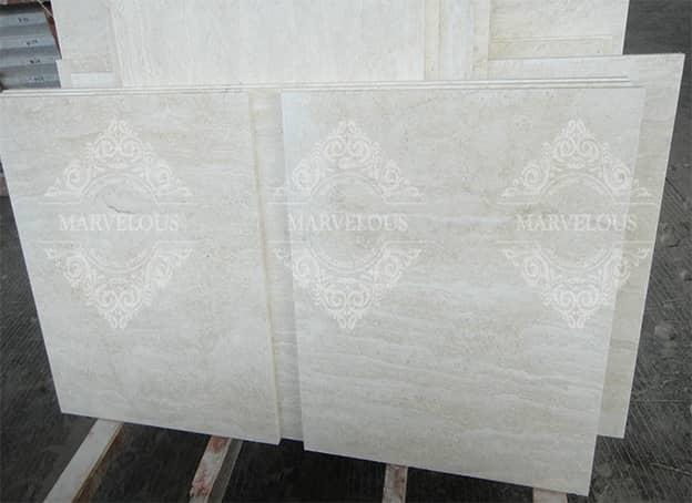 Import White Travertine