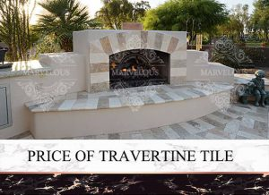 price of travertine tile