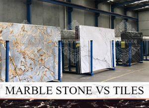 marble stone vs tiles
