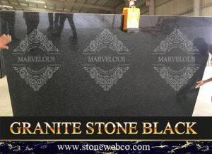 Granite Stone Black