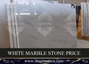 white marble stone price