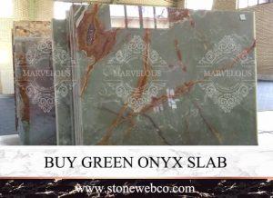 Buy Green Onyx Slab
